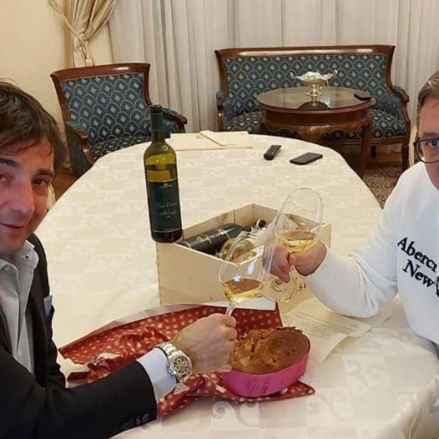 Aleksandar Vučić još jednom se ispričao istarskim vinarima zbog nespretne izjave.