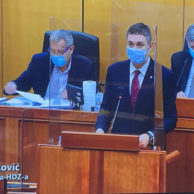 Mato Franković, saborski zastupnik