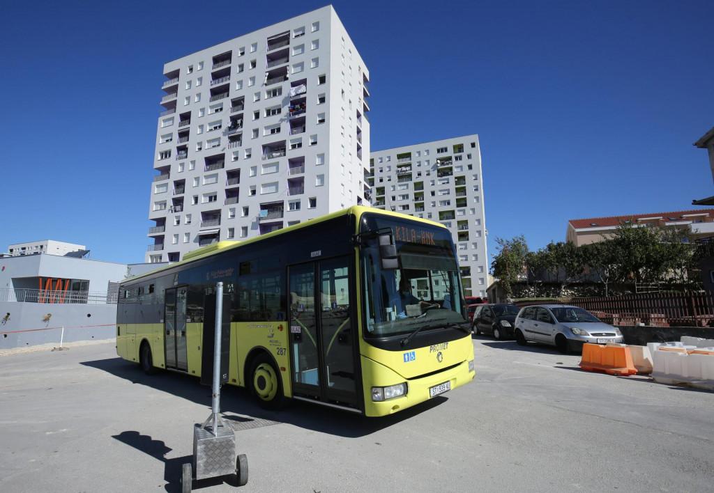 Autobusi na liniji broj 6 djelomično mijenjaju trasu na Kili zbog asfaltiranja okretišta