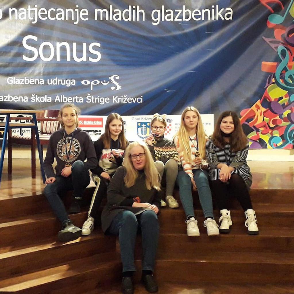 Učenici Glazbene škole Ivana Lukačića pobrali niz nagrada