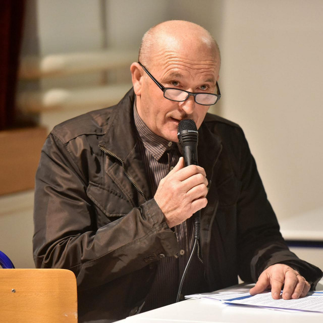 Zvonimir Rogić, predsjednik Mjesnog odbora Arbanasi