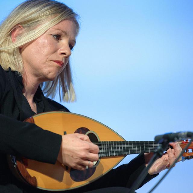 Ivana Kenk Kalebić, članica Splitskoga mandolinskog kvarteta<br />