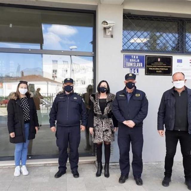 Predstavljen projekt energetske obnove Policijske postaje Ploče
