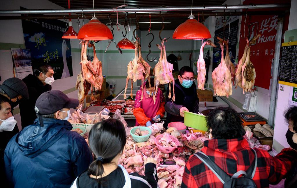 Tržnica u Wuhanu