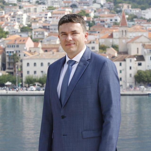 Jure Brkan, gradonačelnik Makarske