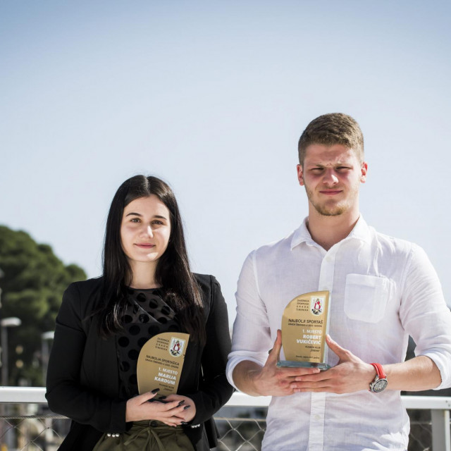 <br /> Marija Kardum i Robert Vukičević najbolji sportaši grada Šibenika u 2020. godini<br />