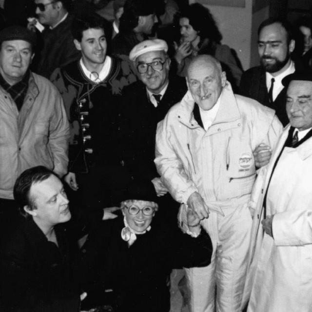 Milutin Dedić, Darko Gulin, Ivo Livaković, Boris Papandopulo, Lovor Bujas, Ante Vuletin, Arsen i Zdenka Papandopulo