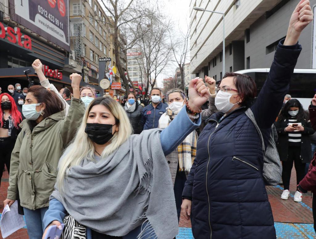Prosvjednice u Ankari
