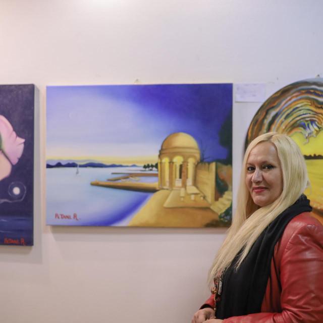 otvorenje izložbe Rosande Petani u Zajednici Talijana