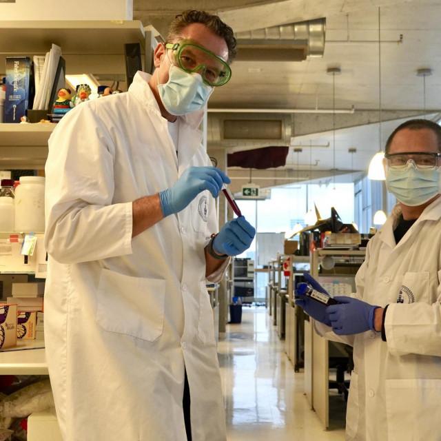 Prof. Igor Štagljar i dr. Zhong Yao razvili su novi serološki test na koronavirus