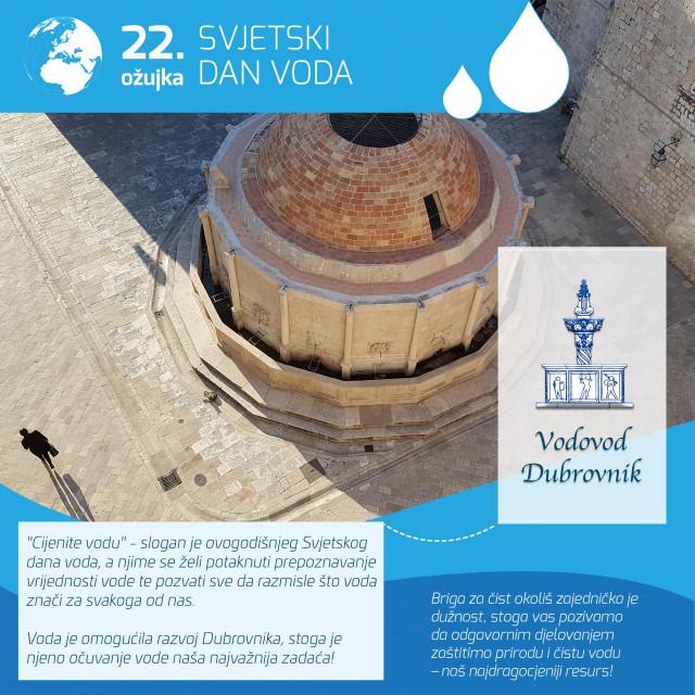 Svjetski dan voda, 22. ožujka