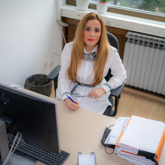 Tonka Damjanović od 2003. radi u HZMO-ovom Područnom uredu u Dubrovniku