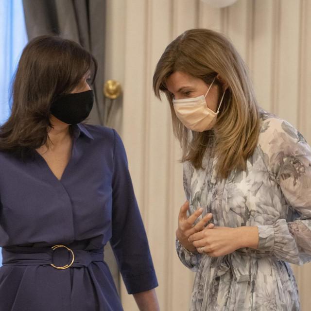 <br /> Biljana Borzan i Sanja Musić Milanović