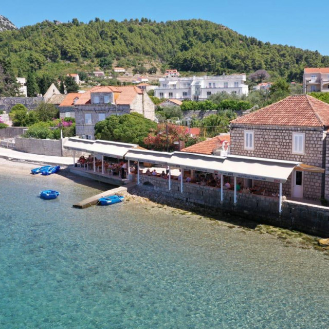 Restoran na Lopudu zbog kojeg se zadužio Ivo Glumac