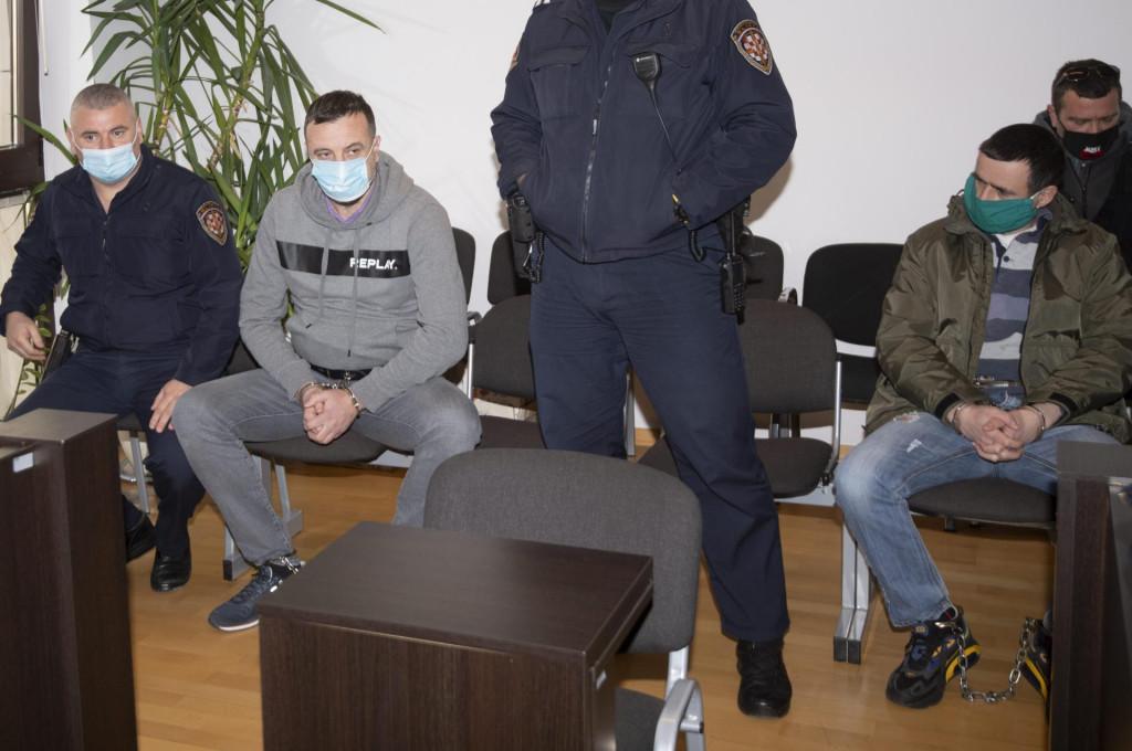Dalibor Cvijanovic i desno Milan Čolić - tereti ih se za razbojništvo koje je za posljedicu imalo smrt osobe
