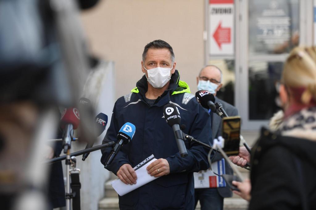 Na fotografiji: Alan Medic, voditelj Službe za epidemiologiju Zavoda za javno zdravstvo Zadar