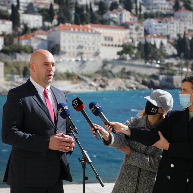 Press konferencija Roka Tolića na Porporeli