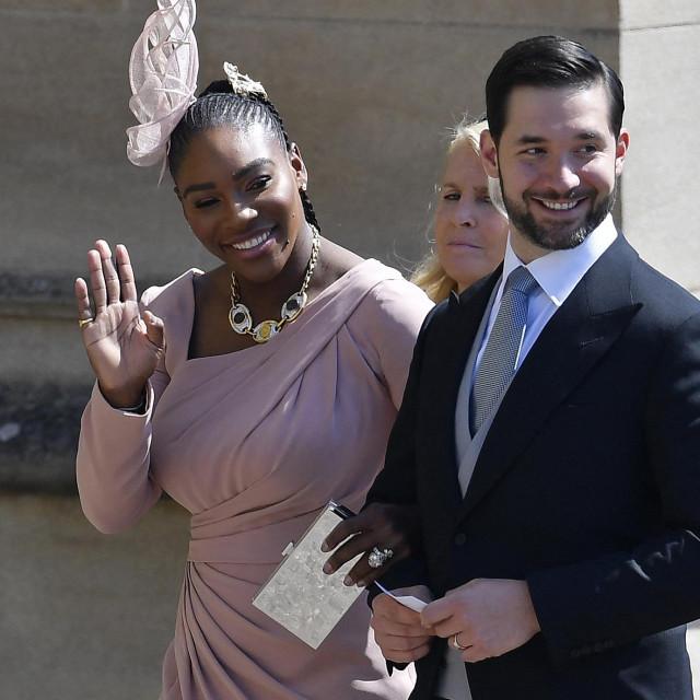 Serena Williams je sa suprugom Alexisom Ohanianom bila na vjenčanju Meghan Markle i princa Harryja u Windsoru 19. svibnja 2018. godine