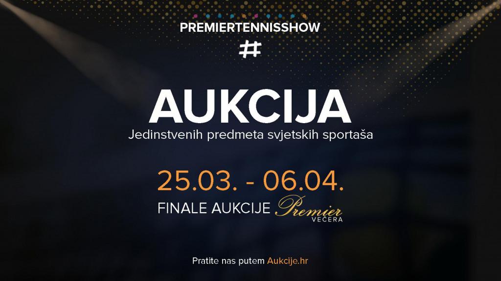 Aukcija Premier Tennis Show
