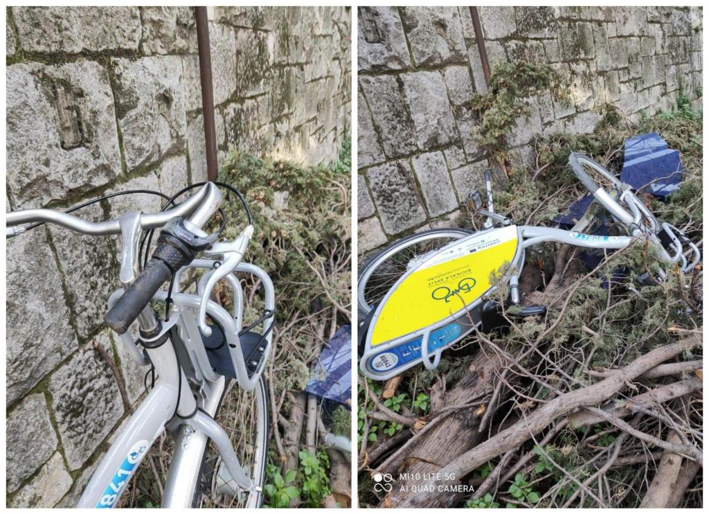 Demolirane javne bicikle