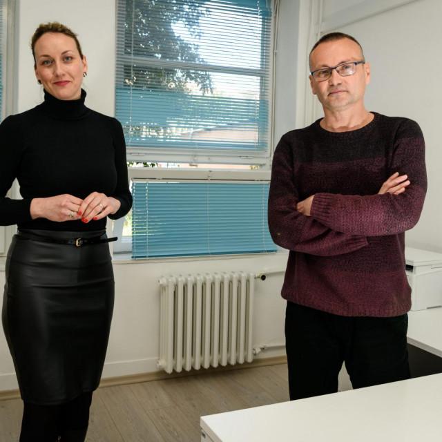 Psihologinja Ivana Štrkalj i psihijatar Mihajlo Vladić, djelatnici Službe za mentalno zdravlje Zavoda za javno zdravstvo