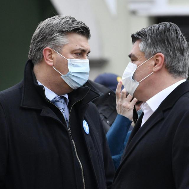 Ovaj smo se tjedan mogli naslušati svađe između Milanovića i Plenkovića