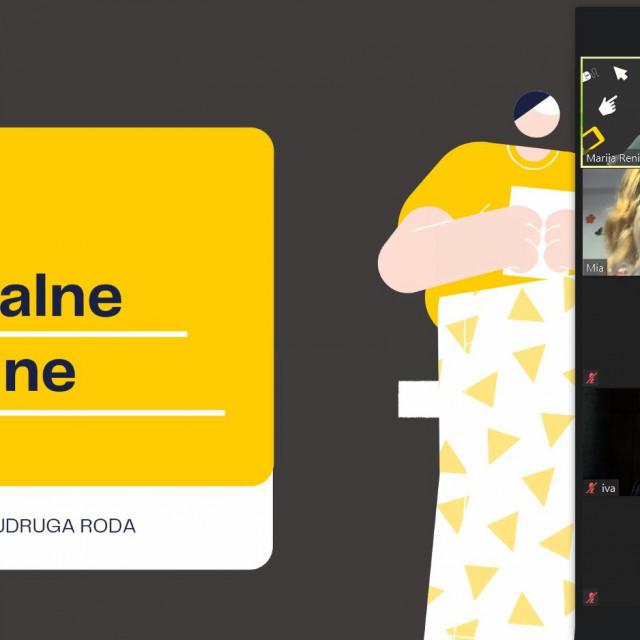 """Održana online radionica """"Razvoj digitalnih vještina kod predškolaraca"""""""