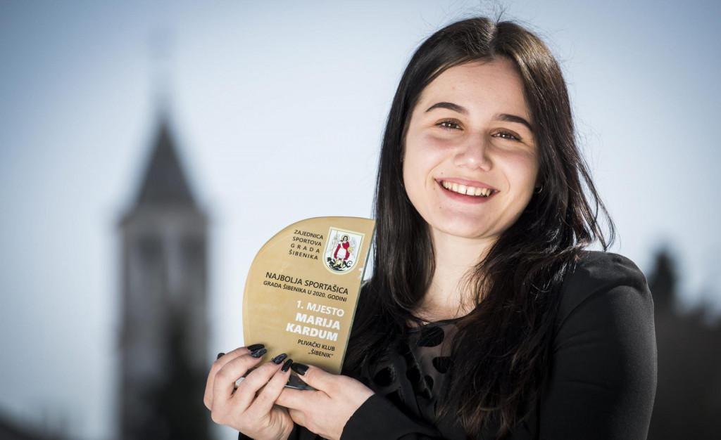 Marija Kardum, najbolja šibenska sportašica u prošloj godini