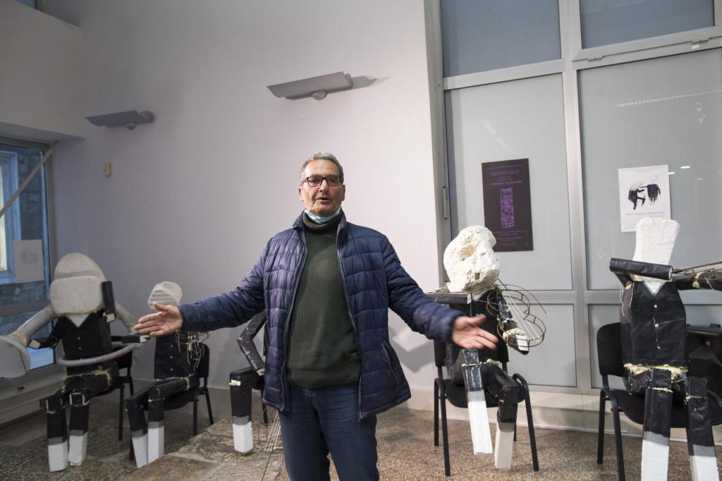 Neven Tudić, 'dirigent' pred svojim orkestrom<br />