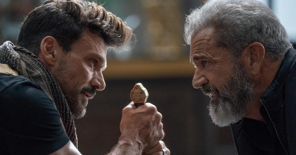 Glumac i snagator Frank Grillo u borbi protiv glavnog negativca kojeg glumi Mel Gibson