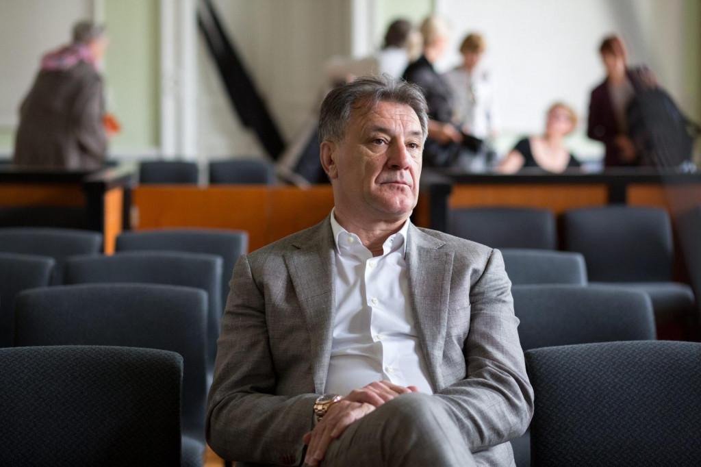 Zdravko Mamić tijekom suđenja na Županijskom sudu u Osijeku, u travnju 2018. godine
