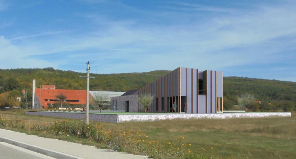 Simulacija izgleda Memorijalnog centra 'Josip Jović' koji bi trebao biti završen za tri godine