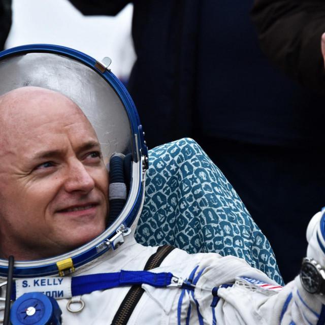 NASA-in astronaut Scott Kelly