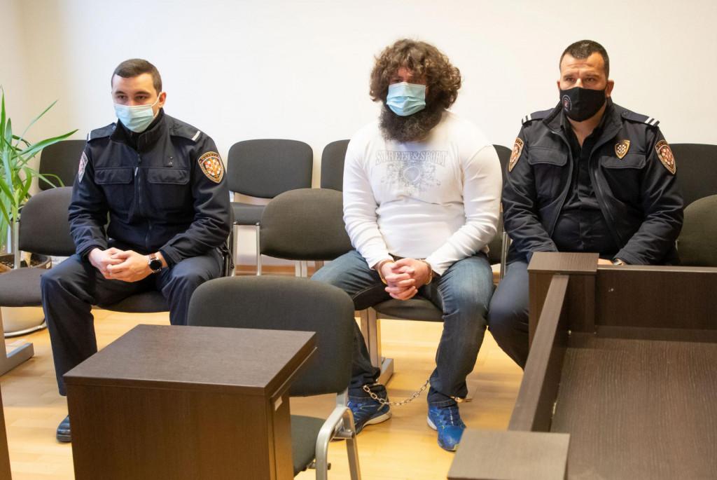 Na fotografiji: Željko Melvan u sudnici