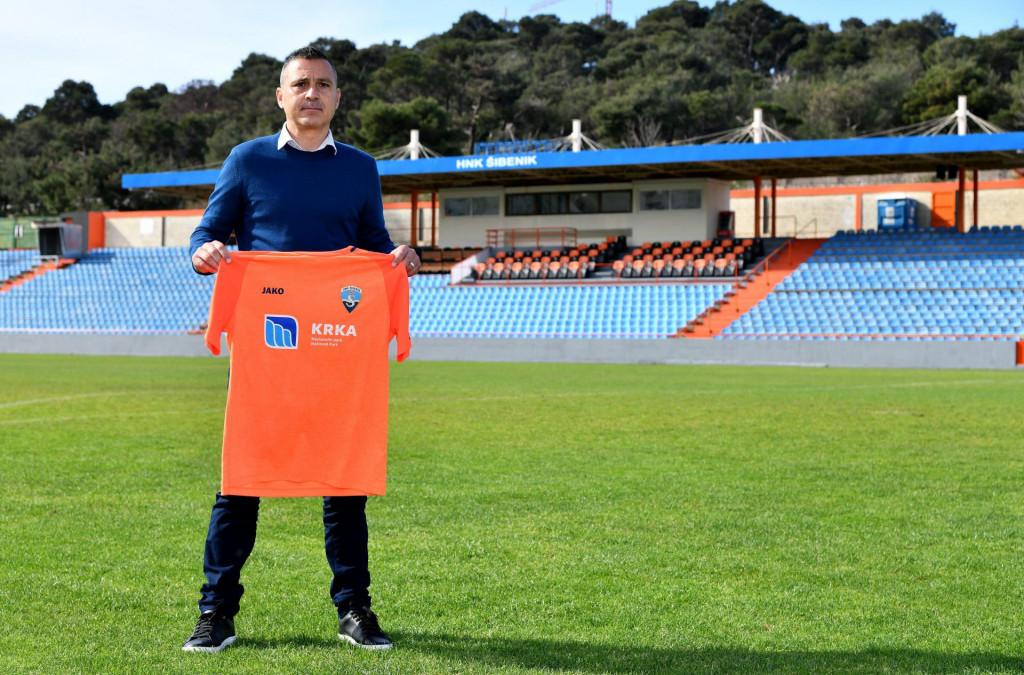 Predstavljanje novog trenera Šibenika Sergia Escobara