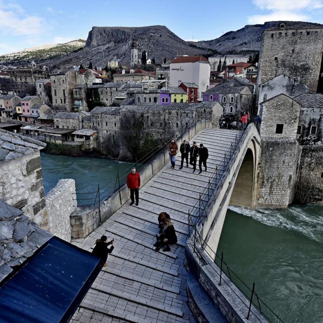 Prizor iz Mostara