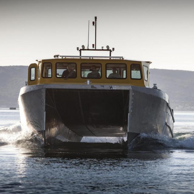 Brodica za potrebe Hrvatskog centra koralja Zlarin bit će slična radnom dvotrupcu Colnago 40 wcat<br />
