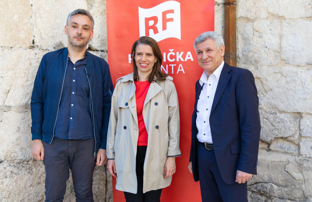 Saša Branković, Katarina Peović i Ranko Adorić