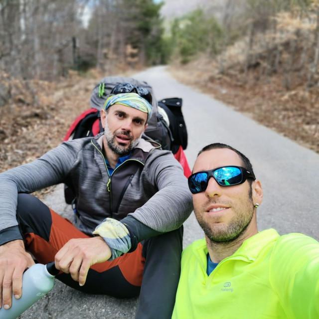 Daniel i Ranko na Via Adriatici