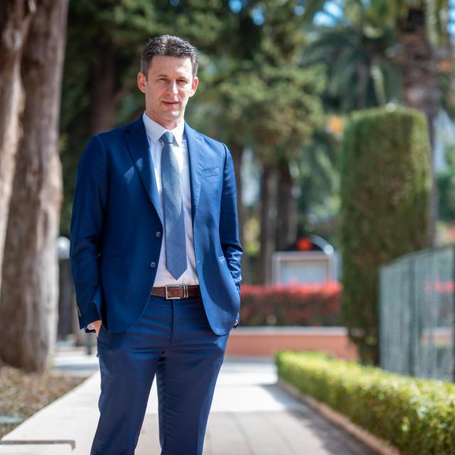 Specijal DV Dubrovnik, 30.03.2021. Bozo Petrov, kandidat za zupana dubrovacko-neretvanske zupanije na lokalnim izborima.