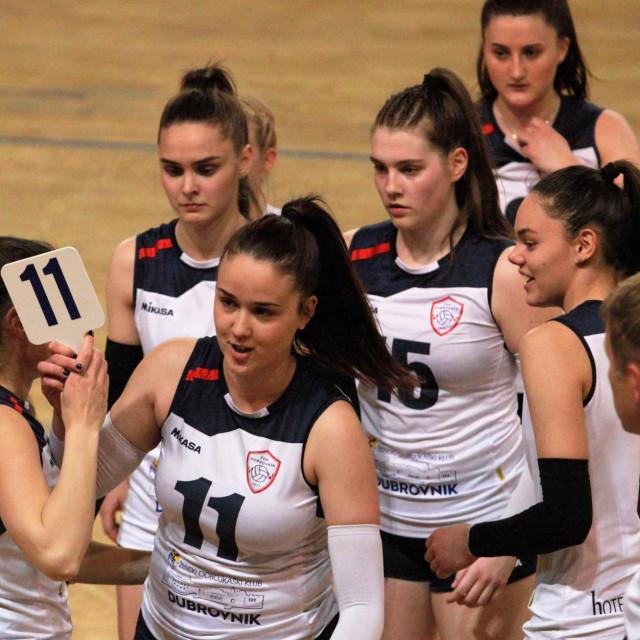 Hrvatska Super liga odbojkašica, 21. kolo, Dubrovnik: Dubrovnik - Brda (Split)