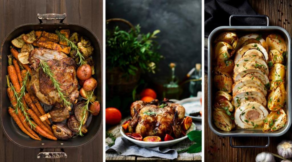 tri pecenke po izboru - janjetina, piletina i svinjetina