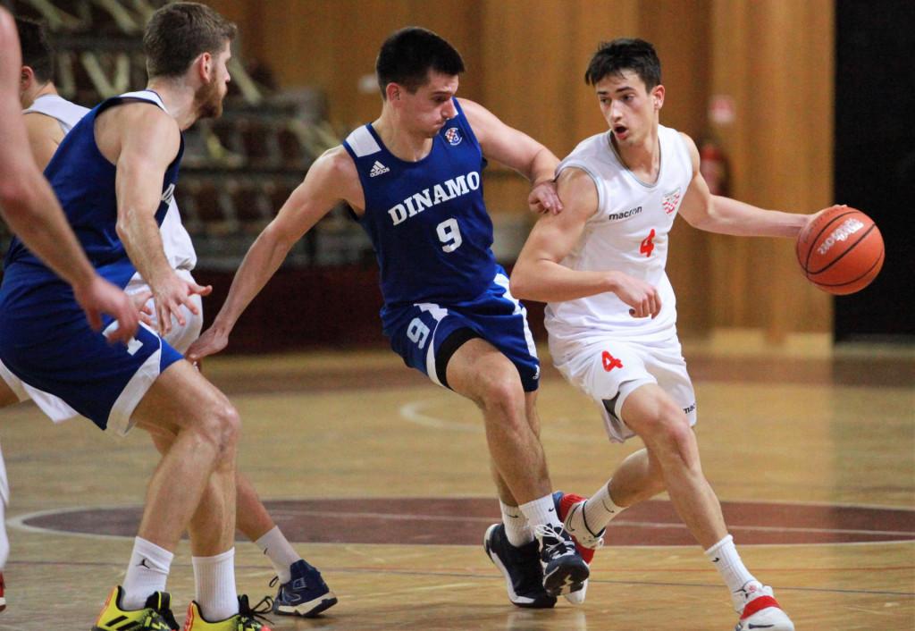 Mateo Vidović (Dubrovnik) protiv Dinama u Gospinom polju 30. siječnja 2021. godine