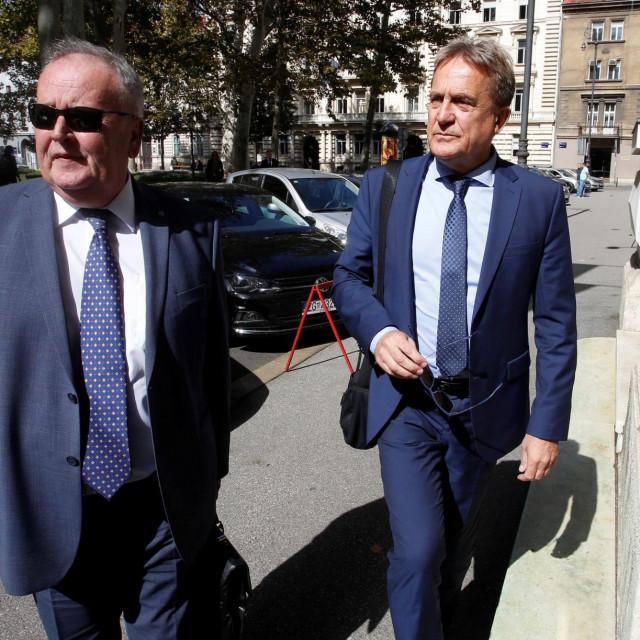 Odvjetnik Krešimir Vilajtović i Božidar Kalmeta<br /> <br /> <br /> <br />