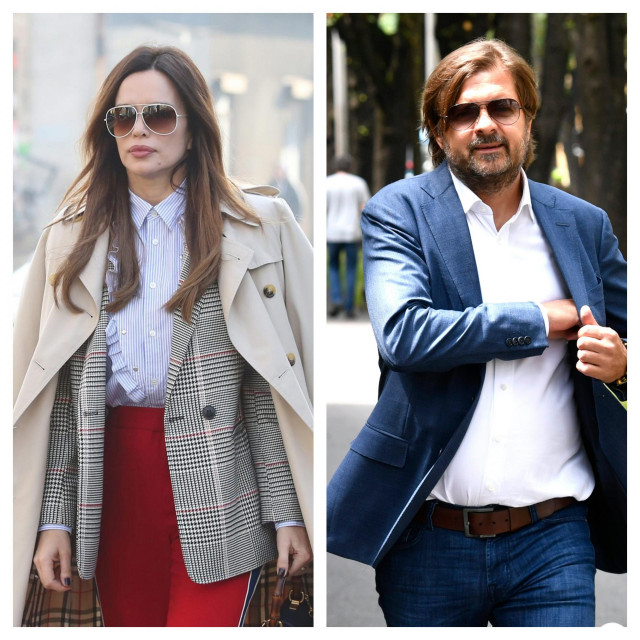 Severina Kojić i Milan Popović
