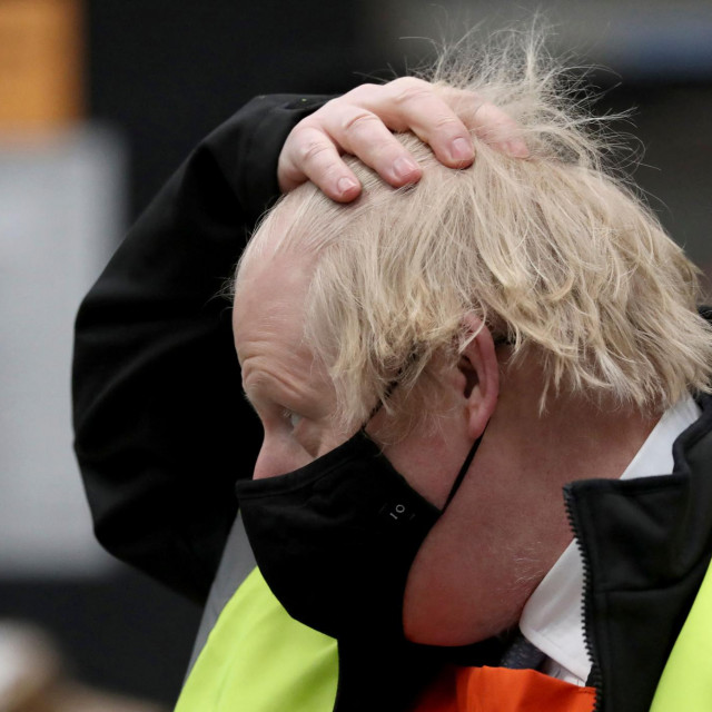Britain's Prime Minister Boris Johnson <br /> (Photo by Scott Heppell/POOL/AFP)