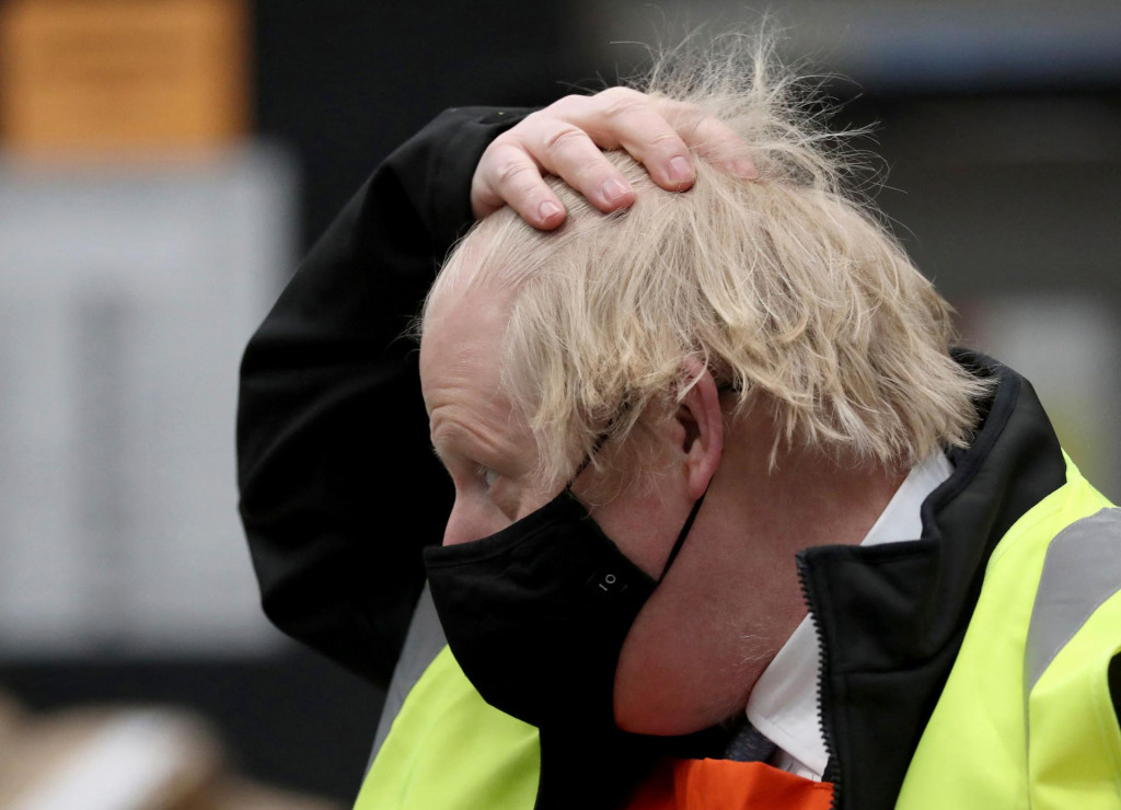 Britain's Prime Minister Boris Johnson<br /> (Photo by Scott Heppell/POOL/AFP)