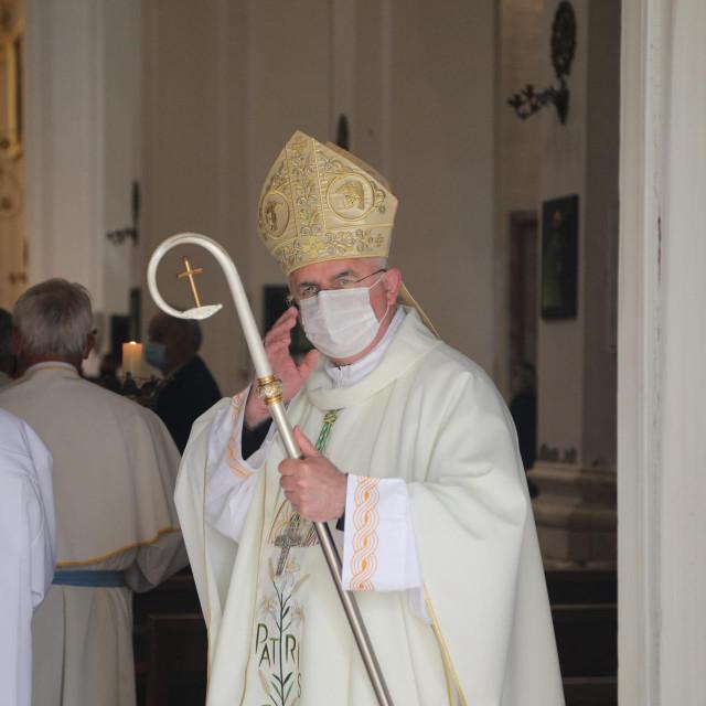 Riječki nadbiskup i dubrovački apostolski upravitelj mons. Mate Uzinić