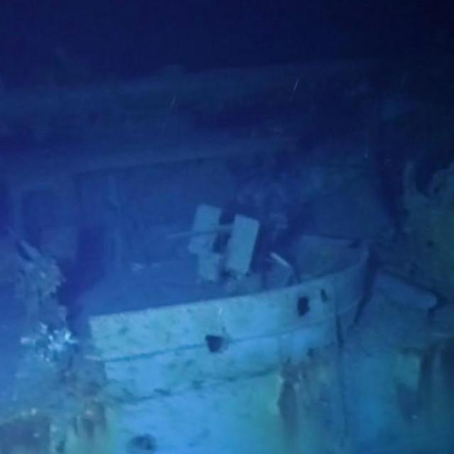 Olupina broda USS Johnston na dubini je od gotovo 6500 metara