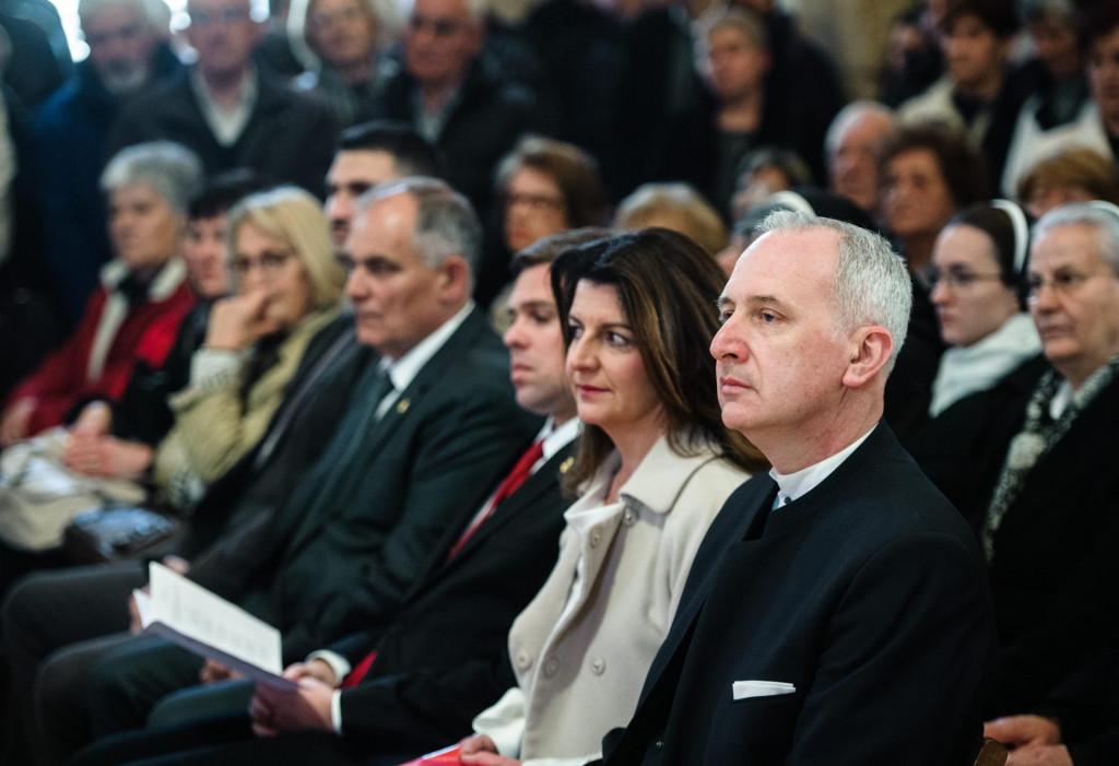 Andro Krstulović Opara i supruga Danijela